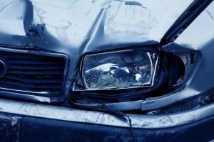 car headlight crash